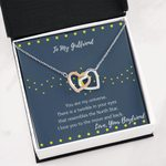My Universe Interlocking Hearts Necklace Gift For Lovers