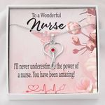 You Have Been Amazing Gift For Nurse Stethoscope Necklace