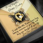 To My Mom Love You Always Happy Easter Forever Love Necklace