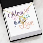 Mom A Son's First Love Gift For Mom Forever Love Necklace