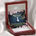 Life Has Given Plenty Of Reasons To Be Happy Gift For Mother In Law Alluring Beauty Necklace
