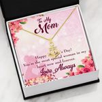 Most Special Woman In My Heart To Mom Anchor Necklace