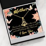 Mother Good And Bad Things Alike Anchor Necklace