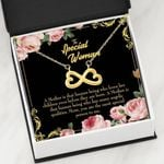 The Most Special Person In Me Infinity Heart Necklace Gift For Women