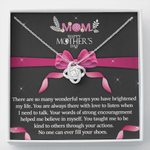 No One Can Ever Fill Your Shoes Gift For Mom Love Knot Necklace