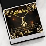 Mother Caring Kind And Loving Anchor Necklace