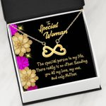 The Special Person In My Life Infinity Heart Necklace Gift For Women