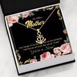 You Are A Mom Gift For Mother Anchor Necklace