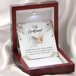 You Are Already Mine Gift For Girlfriend Interlocking Hearts Necklace With Mahogany Style Gift Box
