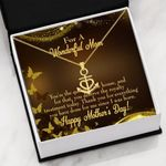 Mother's Day Gift You Are The Queen Of House Anchor Necklace