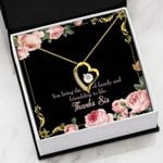 You Bring The Love Of Family Forever Love Necklace Gift For Sister Forever Love Necklace Forever Love Necklace