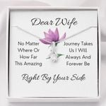 Right By Your Side Gift For Wife Alluring Beauty Necklace
