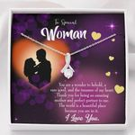 Thank You For Being A Perfect Partner Gift For Wife Alluring Beauty Necklace