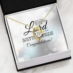 May The Blessings Of Our Lord Be Upon You   Forever Love Necklace
