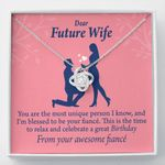 You Are The Most Unique Person I Know Gift For Wife Love Knot Necklace