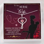 Stethoscope Necklace Gift For Nurse Wife The Biggest Surprise
