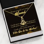 Thinking Of You Spanish Mother's Day Anchor Necklace