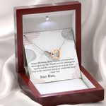 Tremendous Blessing In My Life Interlocking Hearts Necklace Gift For Wife