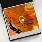 Tus Alas Estaban Listas Gift For Your Lover   Forever Love Necklace