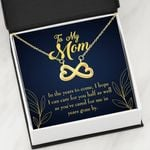 In The Years To Come Infinity Heart Necklace Gift For Mom