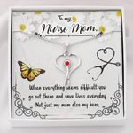 Stethoscope Necklace Gift For Nurse  MoWhen Everything Seems Difficult
