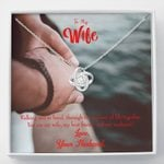 You Are My Best Friend Love Knot Necklace Gift For Wife
