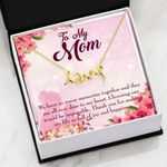 We Have So Many Memories Message Card Scripted Love Necklace Gift For Mom