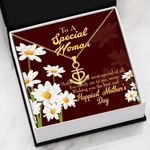 Wishing You The Best And Happiest Mother's Day Gift For Mom Anchor Necklace