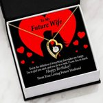 The Definition Of Everything 18K Gold Forever Love Necklace Gift For Future Wife Forever Love Necklace Forever Love Necklace