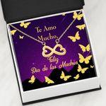 Infinity Heart Necklace Gift For Te Amo Mucho Dia De Las Madres