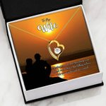 You Are My Fate Gift For Wife 18K Gold   Forever Love Necklace