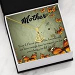 Mother Gift I Lived Another Life Anchor Necklace