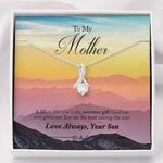 Love Always Mountain Son Gift For Mother Alluring Beauty Necklace