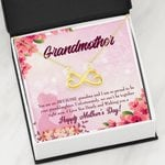 You Are An Awesome Infinity Heart Necklace Gift For Grandmother
