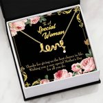 Wishing You A Very Special Mother's Day Gift For Mom Scripted Love Necklace