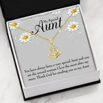 Special Aunt Thank God For Sending You As My Aunt Anchor Necklace