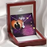 Making You Happy Is My Duty Gift For Wife Alluring Beauty Necklace