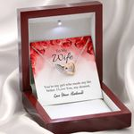 Interlocking Hearts Necklace Gift For Wife You're My Girl