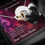 Once In A Lifetime Your Twin Flame Interlocking Hearts Necklace