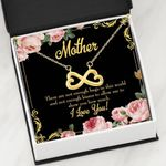 Infinity Heart Necklace Gift For Mama There Are Not Enough Laugh