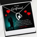 Meeting You Was Fate Gift For Girlfriend Forever Love Necklace