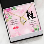 Juntos lo Tenemos Todo Gift For Your Lover Forever Love Necklace