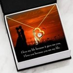 You Are My Life 18K Gold Forever Love Necklace Gift For Women Forever Love Necklace Forever Love Necklace