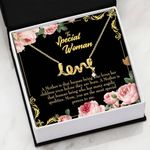 The Most Special Person To Me Scripted Love Necklace Gift For Mom