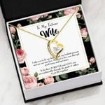 Take You To Be My Best Friend Gift For Wife 18K Gold Forever Love Necklace