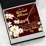 Mothers Are The Most Special Of All Scripted Love Necklace Gift For Mama