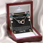 Interlocking Hearts Necklace Gift For Granddaughter Always Little Girl