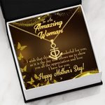 Love I Have For You Gift For Mom Anchor Necklace