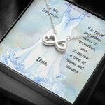 Infinity Heart Necklace Gift For Daughter A Time Of Hopes