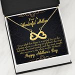 Mother's Day Gift There Is A Special Day Infinity Heart Necklace